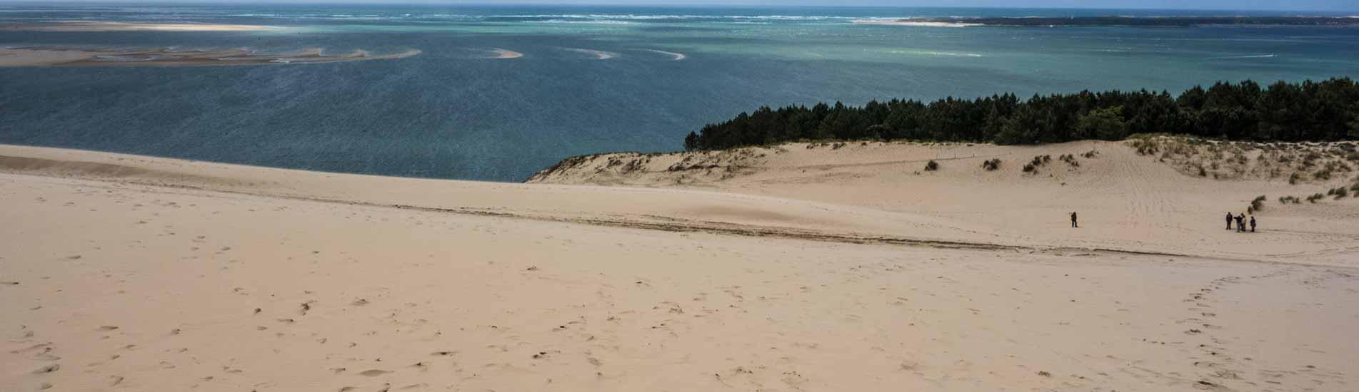 location camping vacances dune du pilat